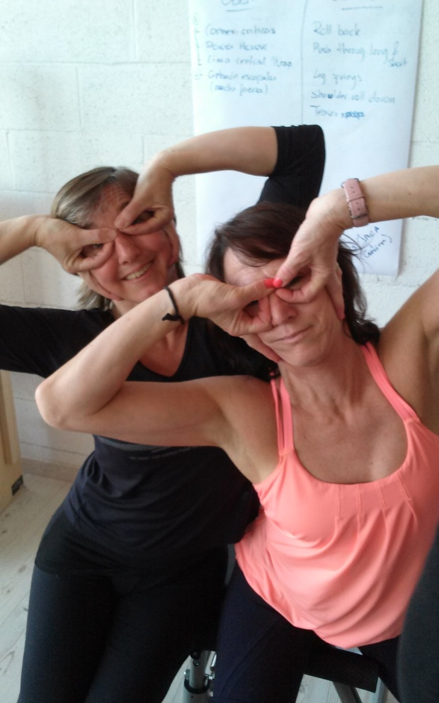 Workshop Clare Dunphy/ International Peak Pilates Fernanda Millions & Clare Dunphy  (May 2014)