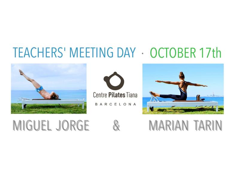 Teachers Meeting Day- Pilates sant celoni- Fernanda Millions Dutra 17 october