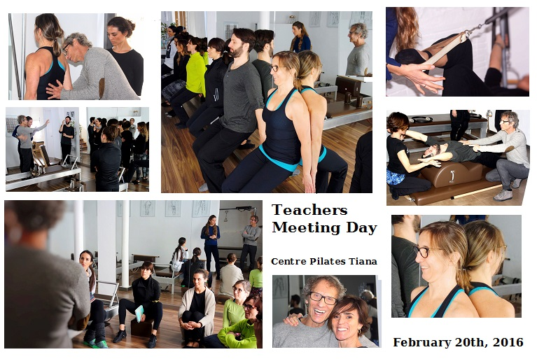 Pilates Sant Celoni- Fernanda Millions- Teachers Meeting Day- Centre Pilates Tiana - Febrero 2016