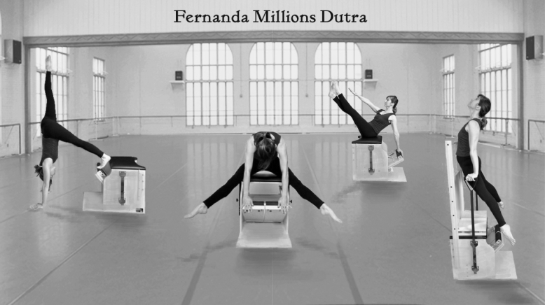 Fernanda Millions Dutra- Pilates Sant Celoni- High Low chair 201607 bw