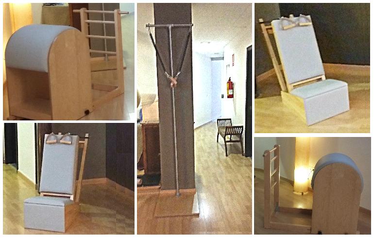 Pilates Sant Celoni- Fernanda Millions Dutra- nuevo equipamiento Studio- Baby Chair - ladder barrel- pedi Pole 201609