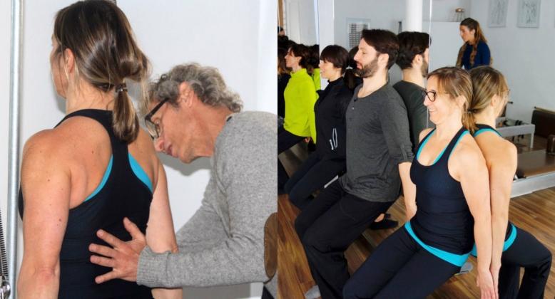 Entrenamiento Escoliosis con Pilates - Tratamiento- patologías- pilates- Fernanda Millions - Pilates Sant Celoni