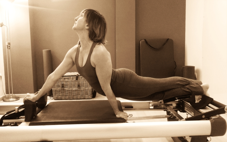 SNAKE and TWIST Pilates Sant Celoni- Fernanda Millions Dutra- reformer 23