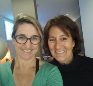 Isabel con Fernanda Millions- Pilates Sant Celoni- Corrección de la cifosis- Patologías- Pilates y cifosis