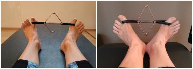 Toe Strechers- pilates para pies- pies cavos- pies planos- supinación y pronación- Fernanda Millions Dutra- Pilates Sant Celoni