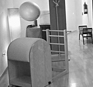 Pilates Sant Celoni- Fernanda Millions Dutra- ladder barrel bw